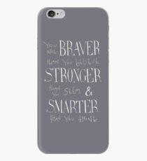 Du bist mutiger iPhone-Hülle & Cover