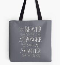 Bolsa de tela Eres Braver