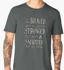 Camiseta premium para hombre Eres Braver
