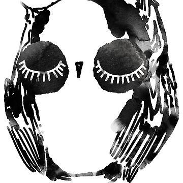 Round Owl by annieclayton