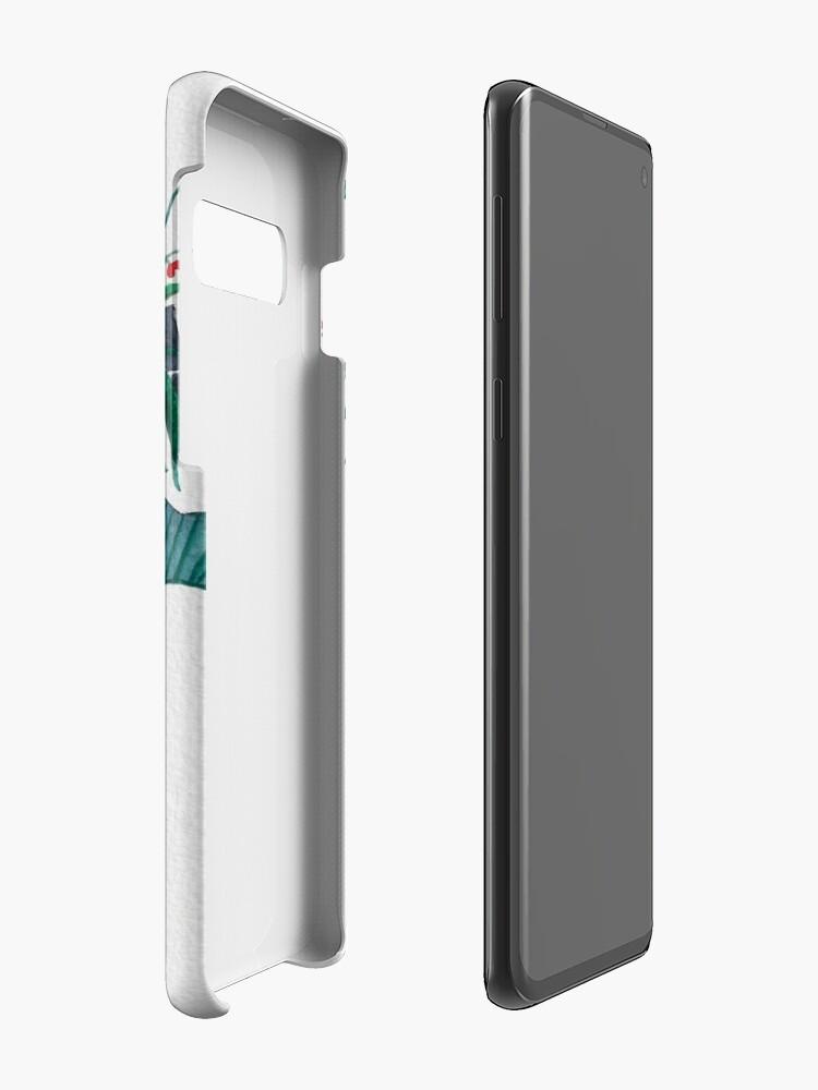 Vista alternativa de Funda y vinilo para Samsung Galaxy Las piñas están en mi cabeza