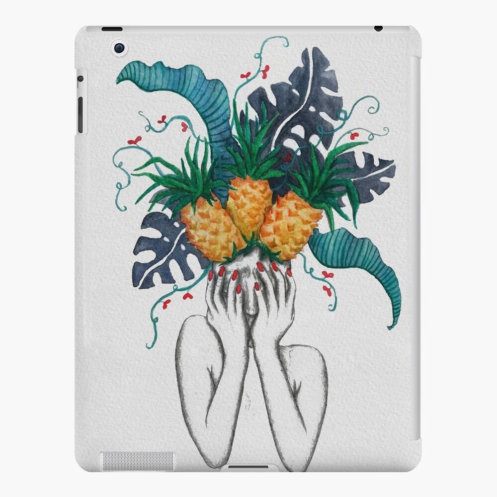 Las piñas están en mi cabeza Funda y vinilo para iPad