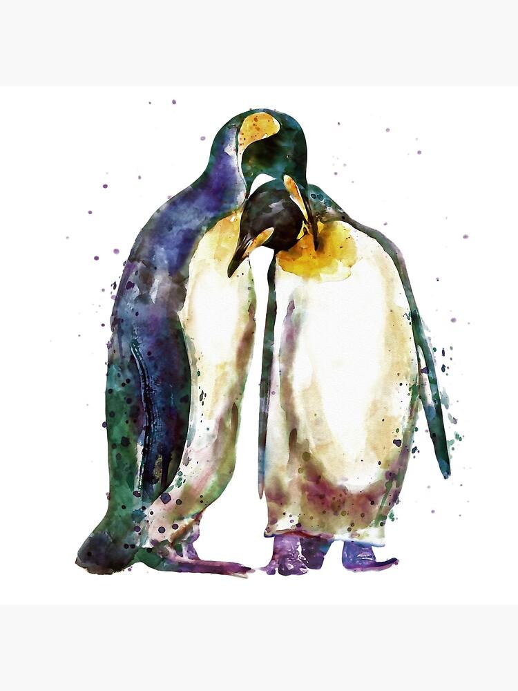 Penguin couple von caracatita75