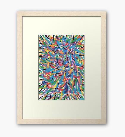 2304 - Unusual Energetic Perspectives Framed Print