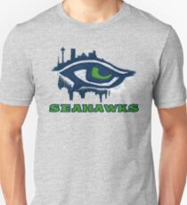 Seahawks Eye in English (SSH-000007) T-Shirt
