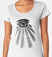 The all seeing eye Women's Premium T-Shirt