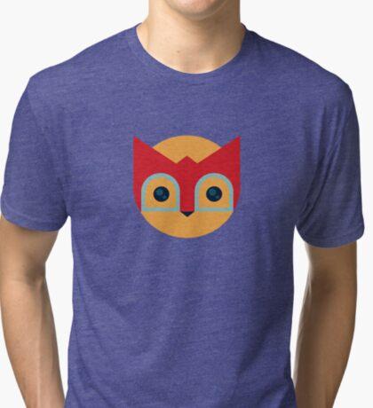 Wrestle Cat Face Tri-blend T-Shirt