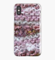 Pink Knit iPhone Case
