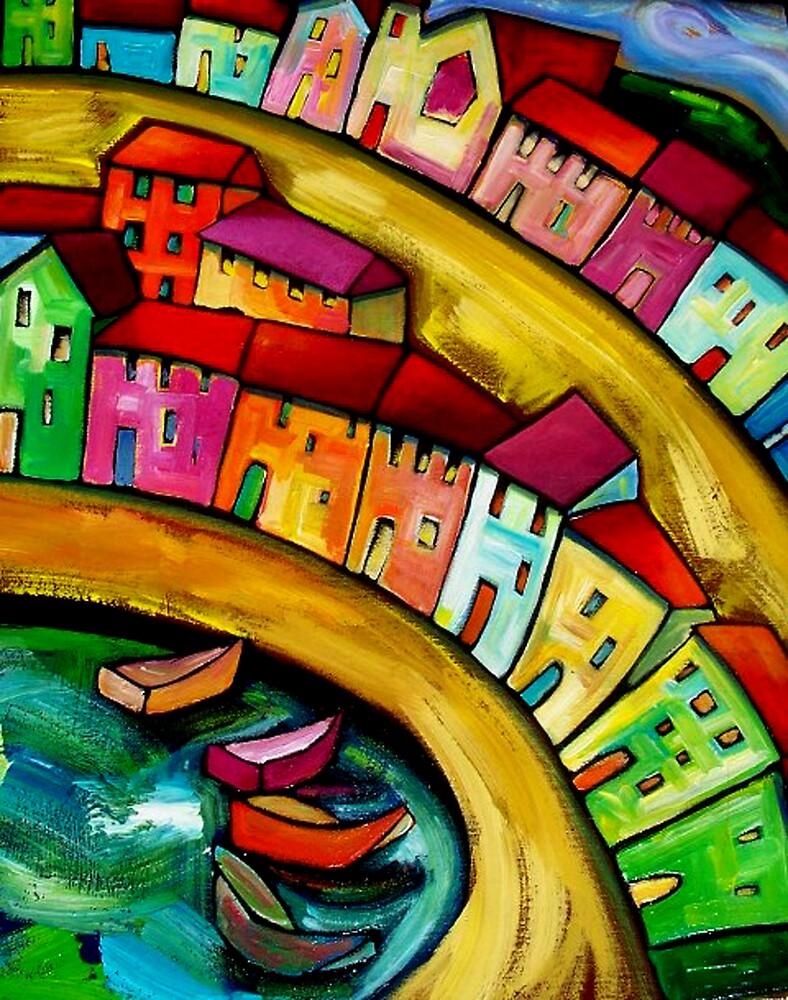 MANTUA -  ITALY. by ART PRINTS ONLINE         by artist SARA  CATENA