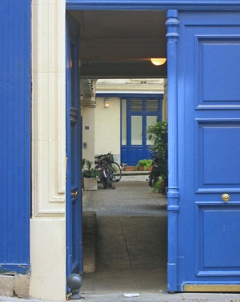 Les Portes Bleu by Josette21