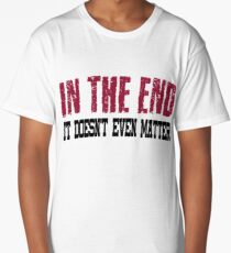Linkin Park In The End Long T-Shirt
