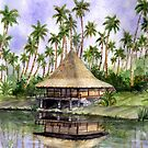 Tropical Cottage by Farida Greenfield