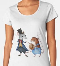 Town Mouse and Country Mouse Women's Premium T-Shirt