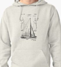 Sail Boat Pullover Hoodie
