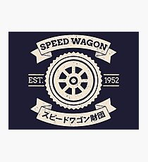 SPW - Speed Wagon Foundation [Cream] Photographic Print