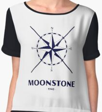 Dunkirk Movie - Moonstone Boat Nautical Logo Women's Chiffon Top