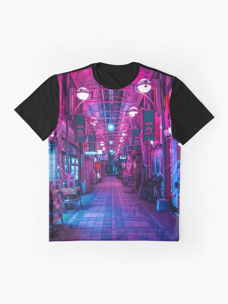 Alternative Ansicht von EINTRITT IN DIE NÄCHSTE DIMENSION Grafik T-Shirt