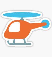 Helicopter Emoji Sticker