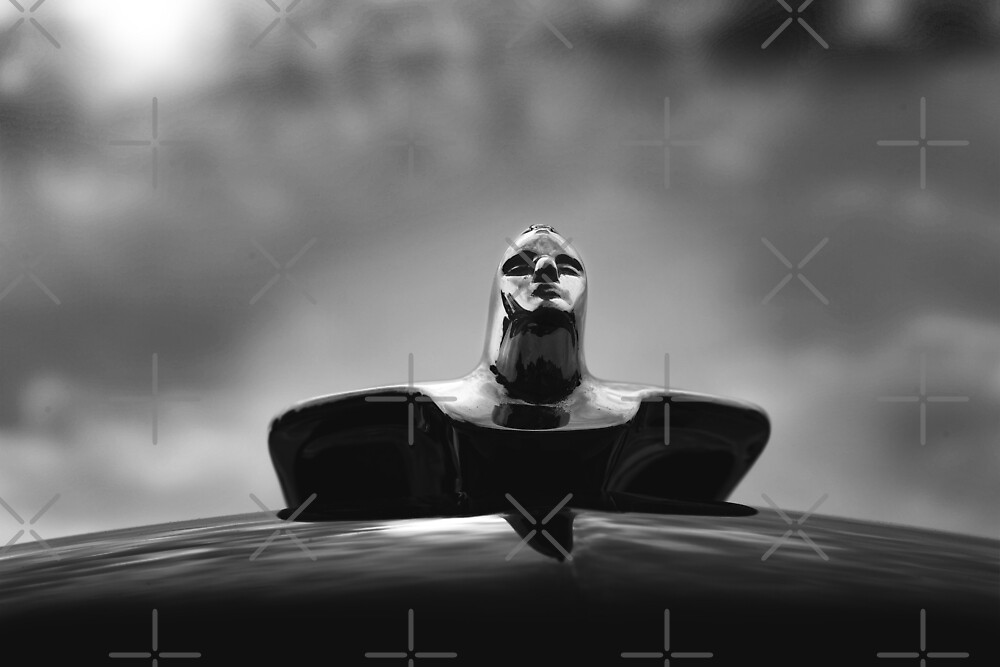 1954 Cadillac, Hood Ornament by hottehue