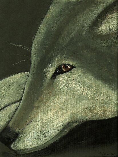 Lone Wolf by Dawn B Davies-McIninch