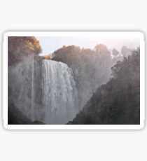 Panoramic view of the Marmore falls Sticker