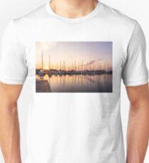Sitting on the Dock Enjoying the Silky Morning T-Shirt
