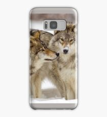 Love you sweetie... - Timber Wolves Samsung Galaxy Case/Skin