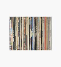 Classic Rock Vinyl Records  Art Board Print