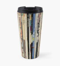 Classic Rock Vinyl Records  Travel Mug