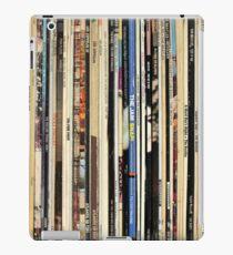 Classic Rock Vinyl Records  iPad Case/Skin