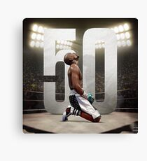 Floyd the undefeated! Canvas Print