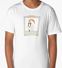 polaroid of a classy shrimp in a dinner jacket Long T-Shirt