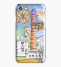 Lisbon sketches iPhone Case/Skin