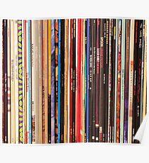 Indie Rock Vinyl Records Poster