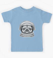Astronaut pug Kids Tee