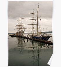 Tall Ships at Tacoma Poster