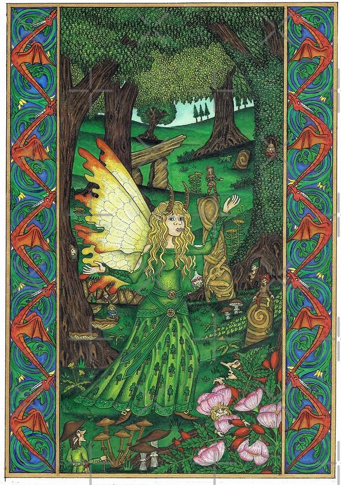 The Oak Mage by CherrieB