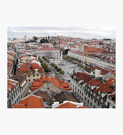 Looking Down on Lisbon Photographic Print