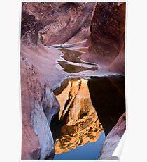 Utah Slot Canyon Poster