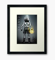 Osu! Gon Freecs Framed Print