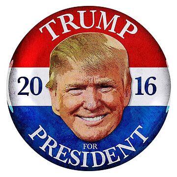 Trump For President 2016 Merchandise by BoomWear