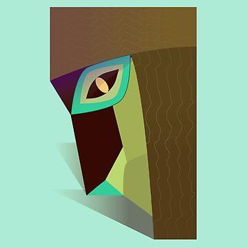 Seven treant Mask by TIERRAdesigner