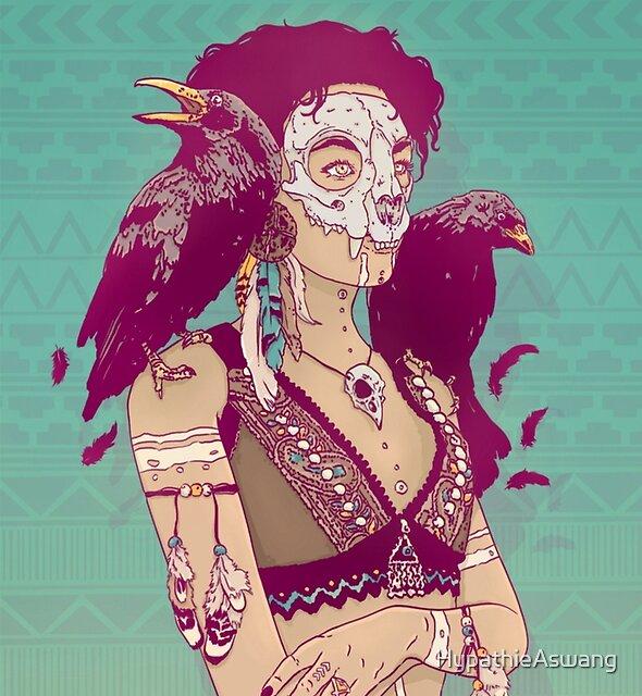 Raven Lady by HypathieAswang