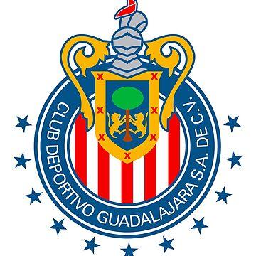Club Deportivo Guadalajara by o2creativeNY