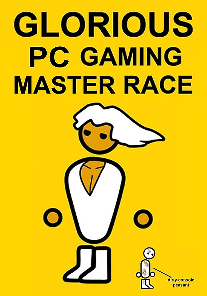 Poster Glorious Pc Gaming Master Race by TYAR Cloud97