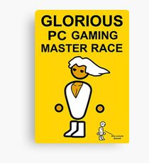 Poster Glorious Pc Gaming Master Race Canvas Print