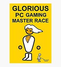 Poster Glorious Pc Gaming Master Race Photographic Print