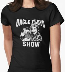 Uncle Floyd show t shirt Women's Fitted T-Shirt