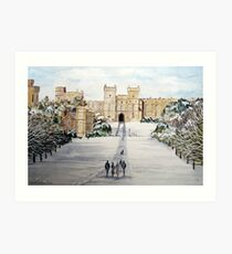 Windsor Castle Art Print