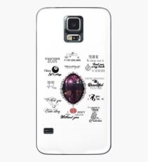 Malec - season 2 quotes Case/Skin for Samsung Galaxy